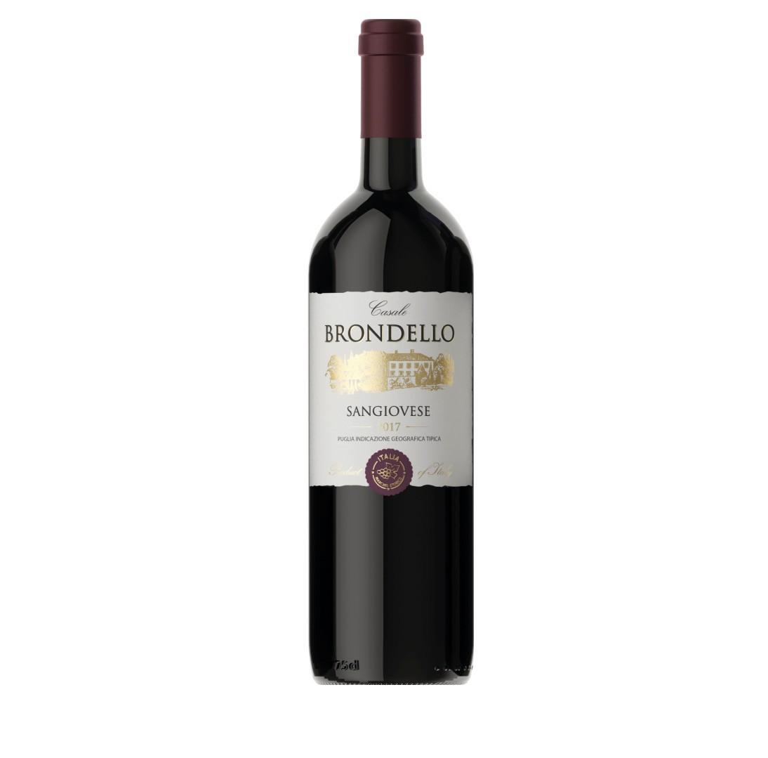 Вино Касале Бронделло Санджовезе кр/сух 0,75л.