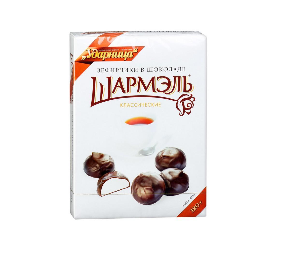 Зефир «Шармэль» в шоколаде 250г Классический