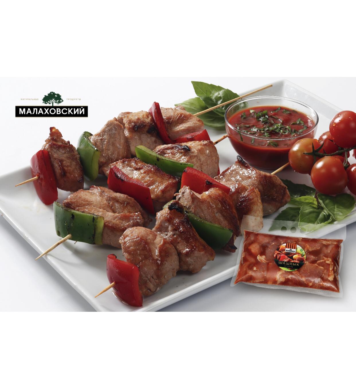 Шашлык Малаховский 1кг — из свинины  -свиной для пикника