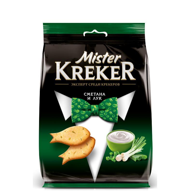 Mister Kreker  1/90 -со вкусом сметаны и луком