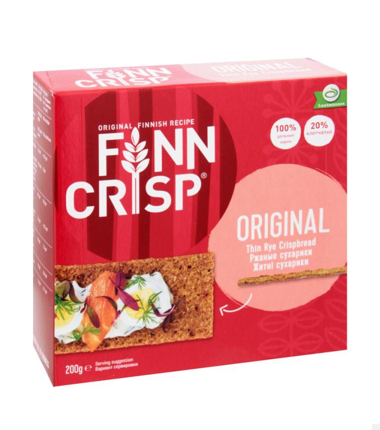 Сухарики  «Finn Crisp» ржан. 200г, шт