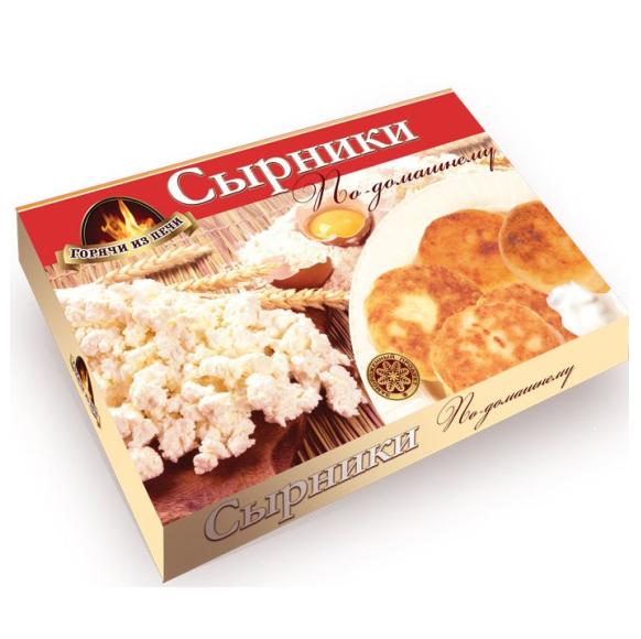 Сырники Горячи из Печи по-домашнему 450г НОВИНКА