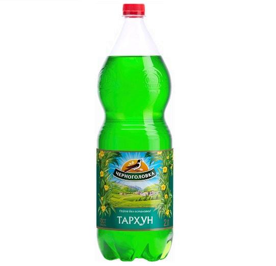 Вода «Черноголовка» 2л пл/б Тархун