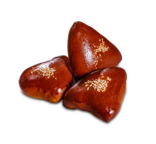 Пирожок сдобный 3 х 80 г в упаковке — с абрикосовой начинкой
