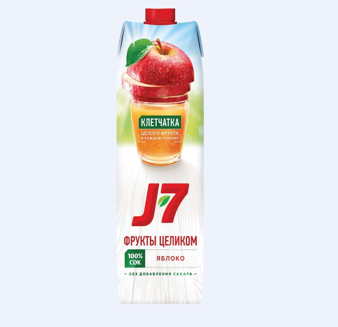 Нектар J7 0,97л.    -Яблоко/Ягоды