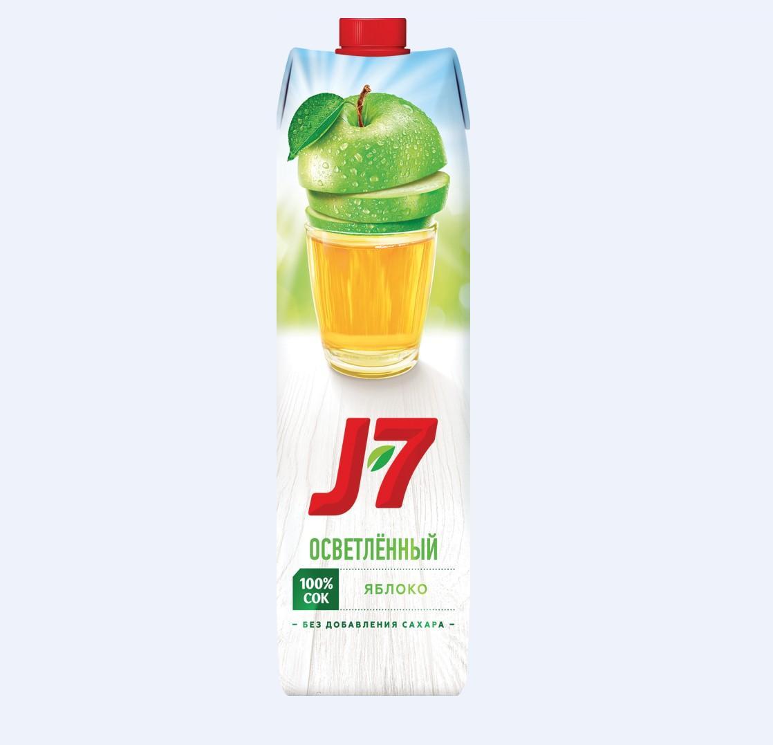 Соки и Нектар  J7 0,97л.   -Яблоко