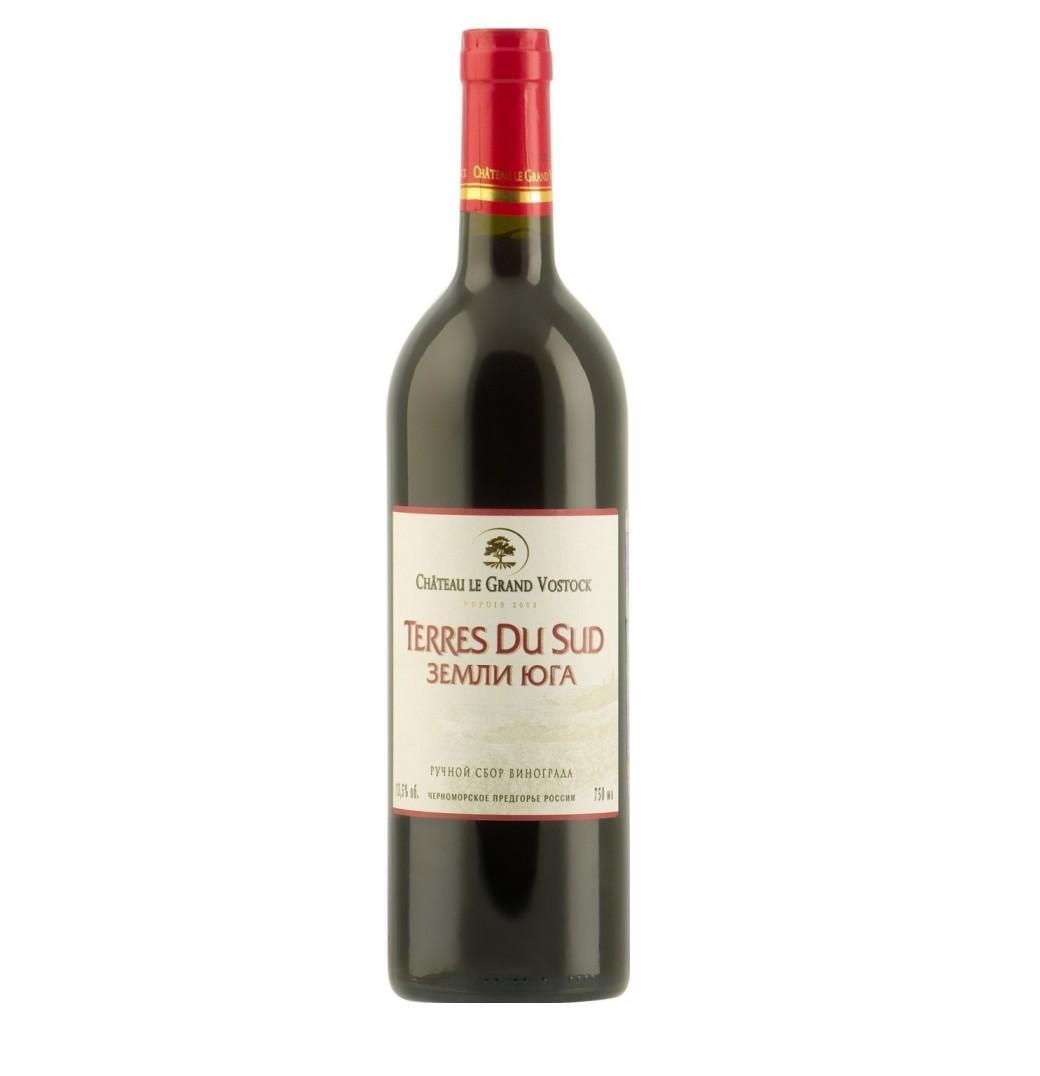 Вино «Земли Юга» кр/сух., 0,75л.
