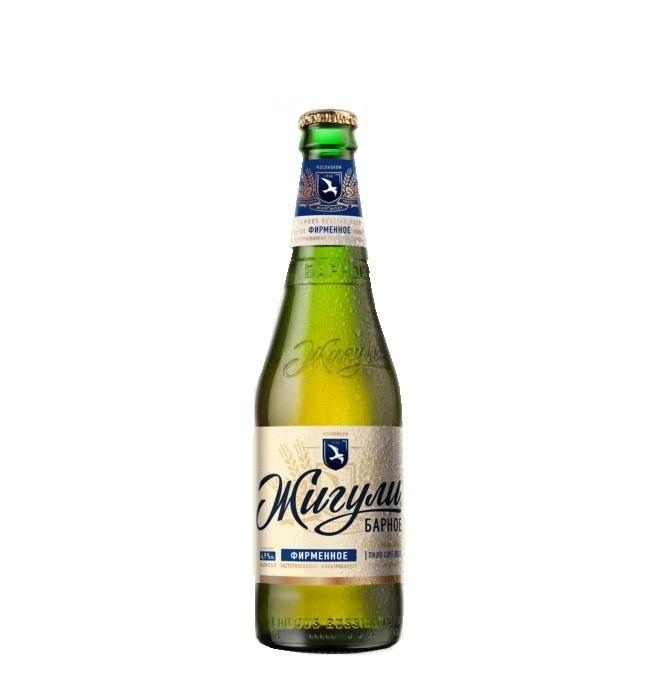 Пиво «Жигули» Барное 0,45л. Ст/б